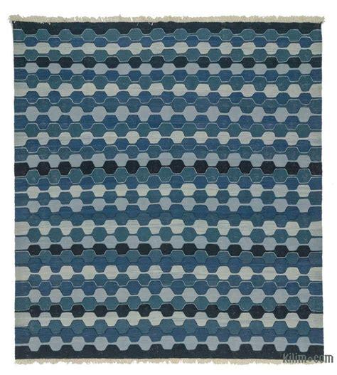 blue kilim rug k0020717 blue new turkish kilim rug