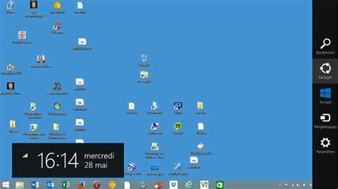 windows 8 d駑arrer sur le bureau le bureau de windows 8 pr 233 sentation et personnalisation