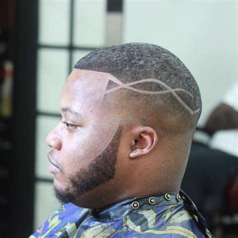 fresh fade haircuts  black men   fashionable designs