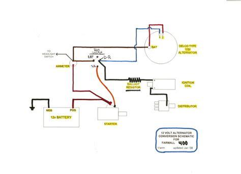 Farmall Cub Wiring Harnes Diagram by Farmall Cub 12 Volt Wiring Diagram Wiring Diagram