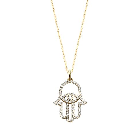 diamond hamsa necklace jewelry designs