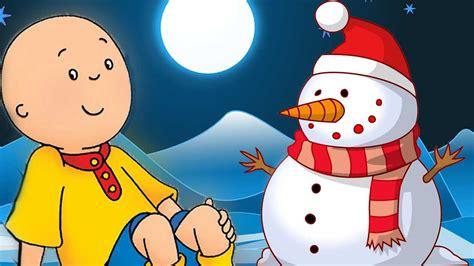 🌟 Caillou Builds A Snowman 🌟