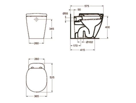 vasche da bagno misure standard ideal standard connect vaso a terra therapy 4 home con