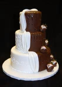 chocolate wedding cakes drea 39 s dessert factory quot his and hers quot wedding cake