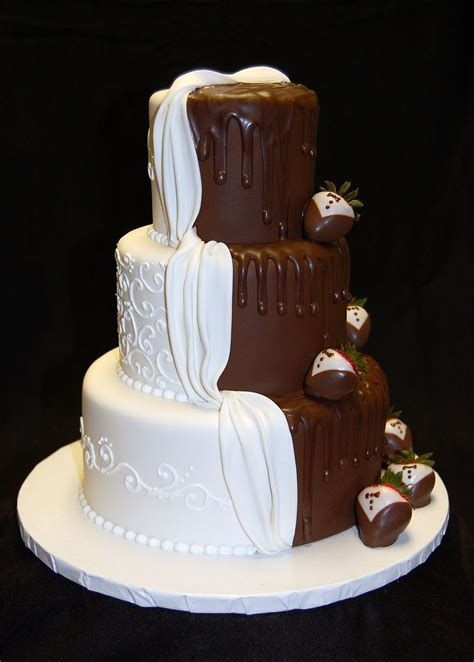 His And Wedding Cakes drea s dessert factory quot his and hers quot wedding cake