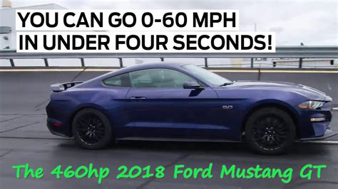 hp  ford mustang gt     secs youtube