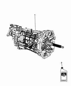 2009 Dodge Challenger Transmission    Transaxle Assembly Of