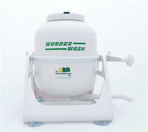 alternative for laundry the wonderwash washing machine the laundry alternative