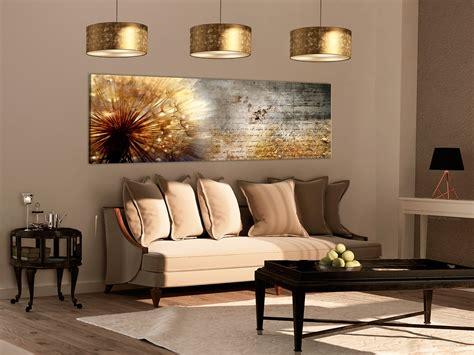 bilder wohnzimmer wandbilder pusteblume abstrakt natur leinwand bilder
