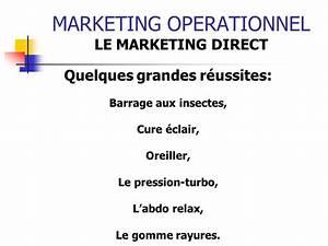 Barrage Aux Insectes Gifi : marketing operationnel ppt t l charger ~ Dailycaller-alerts.com Idées de Décoration