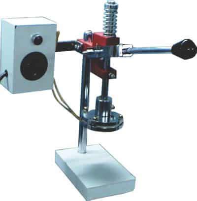 manual hand press foil cap sealer eewa engineering  pvt