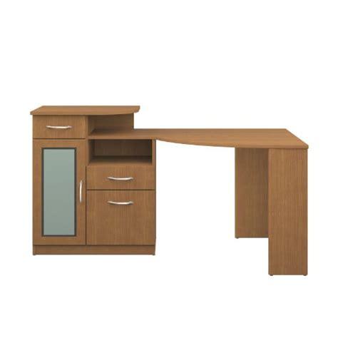 light wood corner desk bush furniture vantage corner desk light dragon wood cheap
