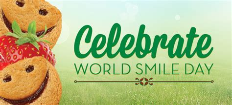 days world smile day printable calendar