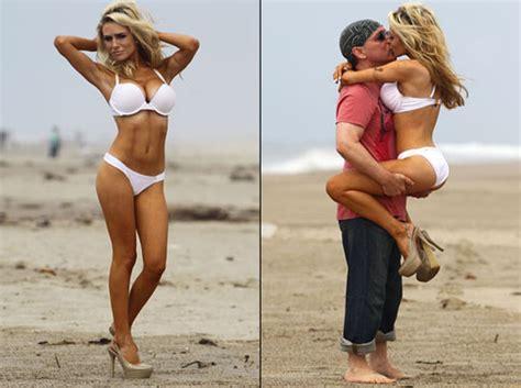 courtney stodden  flaunts bikini body  pda