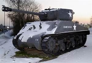 Sherman Jumbo (Medium Tank, M4A3E2) Up-Armored Medium Tank ...