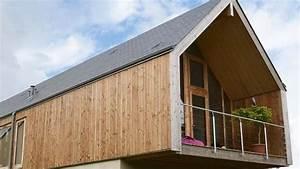 Bardage Façade Maison : bardage ext rieur bois bois composite pvc c t maison ~ Nature-et-papiers.com Idées de Décoration