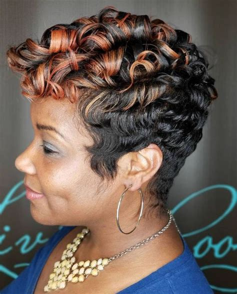 40 short haircuts for older african american women to look