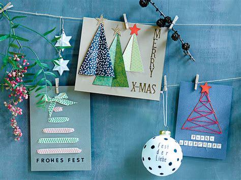 Weihnachtskarten Selber Basteln  Die Schönsten Diyideen