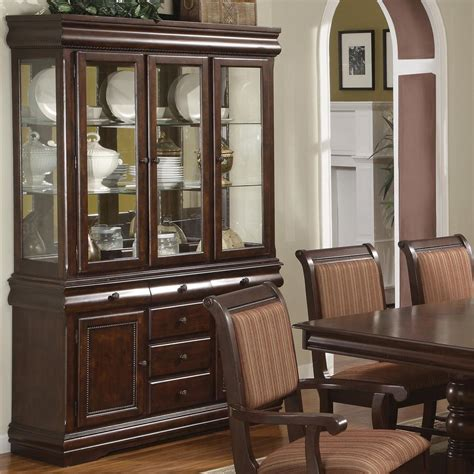 ikea curio cabinet ikea hutch and buffet dining room hutch crown merlot buffet and hutch with three glass doors