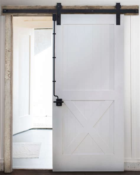barn door lock systems sliding barn door lock system diy home things