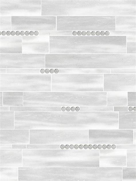 Gray White Leather Finish Marble Mosaic Tile   Backsplash.com