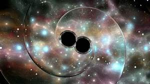 Two black holes orbiting each other: they are surprisingly ...