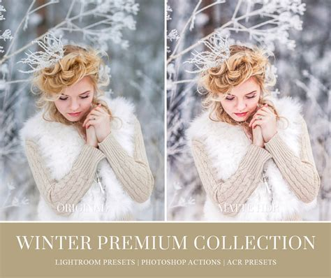 winter lightroom presets photoshop actions acr presets
