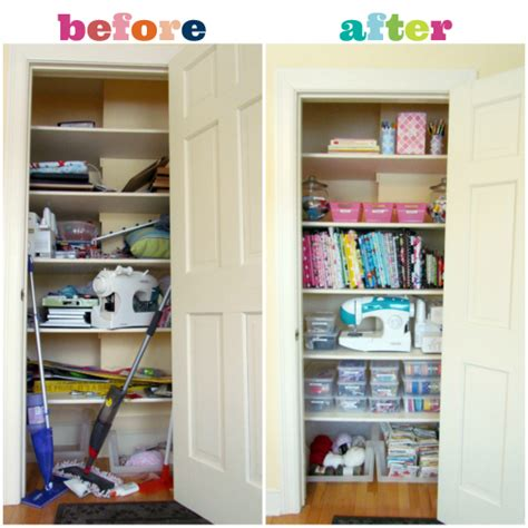Closet Organization Ideas For Crafts by Iheart Organizing Reader Space A Cool Craft Closet