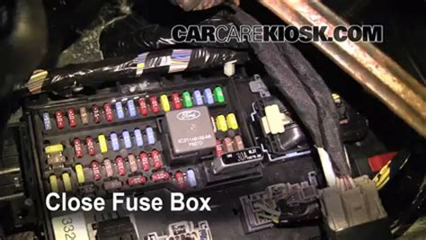 Ford Flex Fuse Box Location by Interior Fuse Box Location 2009 2016 Ford Flex 2009