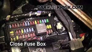 Interior Fuse Box Location  2009-2017 Ford Flex