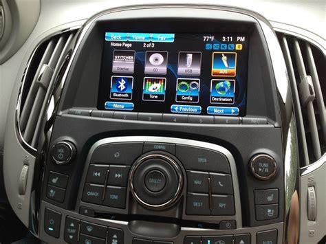 buick lacrosse factory navigation system mvi