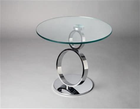 bout de canap 233 design en verre et metal mod 232 le chateau d ax marseille 13
