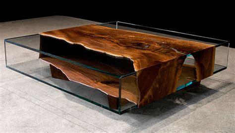 unique wood  glass furniture designs ayanahouse