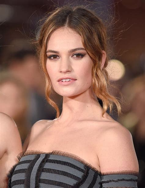 lily james   beauty moments photo