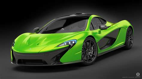 Green Mclaren P1 Concept By Dangeruss On Deviantart
