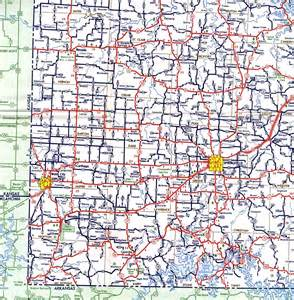 South West Missouri Highway Map