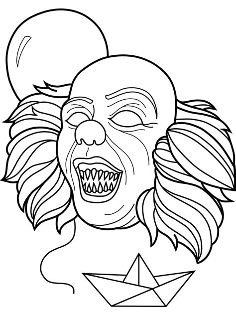 How To Draw Pennywise The Clown From It Download