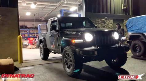 hellcat gladiator build  dynatrac  alive  jeep
