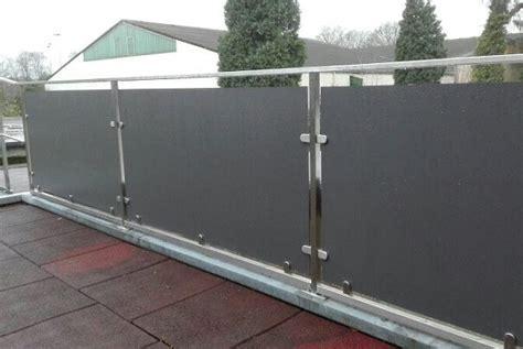 Balkonverkleidung Aus Kunststoff by Balkonverkleidung Oder Balkon Sichtschutz Wir Zeigen