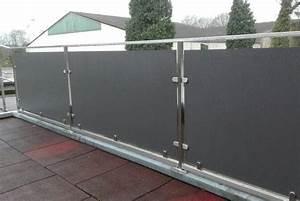 sichtschutz kunststoffplatten speyedernet With französischer balkon mit garten kunststoffplatten