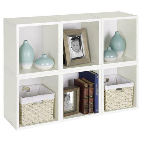 Cube Bookcase White by Way Basics Modular 6 Cube Bookcase White Do Not Use