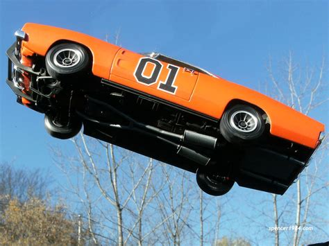 dukes  hazzard tv general lee jump  spencer