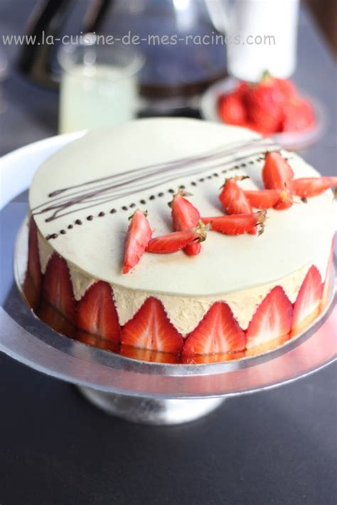 une mousseline en cuisine recette fraisier gateau facile