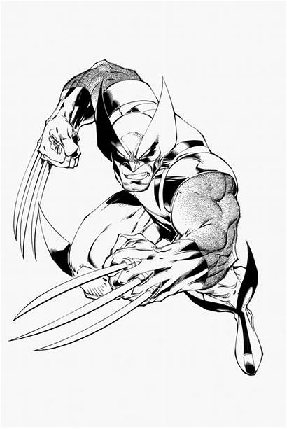 Wolverine Coloring Marvel Printable Timtownsend Colorear Desenhos