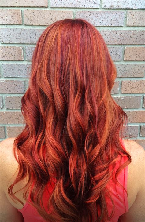 Carlis Red Orange Hair Color Hair Colors Ideas