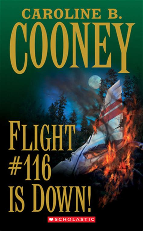 flight     caroline  cooney reviews