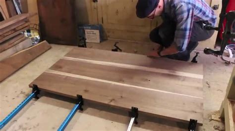 building  walnut dining table patrick hosey youtube