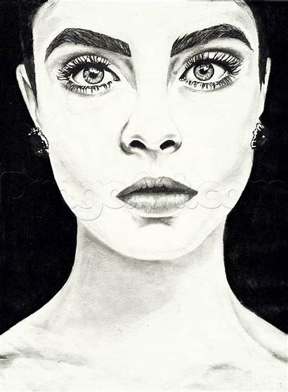 Draw Famous Sketches Easy Drawing Cara Portraits