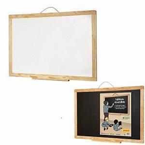 Tableau Aimanté Pour Photos : tableau r versible blanc et noir achat vente tableau ~ Teatrodelosmanantiales.com Idées de Décoration
