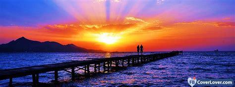 Sunset nature and landscape Facebook Cover Maker ...
